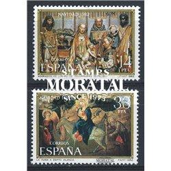 1982 Espagne 2303/2304  Noël Noël **MNH TTB Très Beau  (Yvert&Tellier)