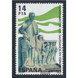 1982 Spanien 2570 Salesianer Don Boscos Religiös ** Perfekter Zustand  (Michel)