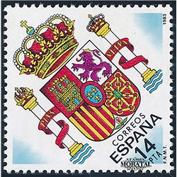 1983 Spanien 2571 Wappen Wappen  ** Perfekter Zustand  (Michel)