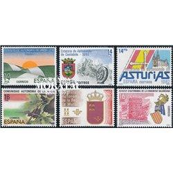 1983 Spanien 2691 Autonomien Amtlichen Stellen ** Perfekter Zustand  (Michel)