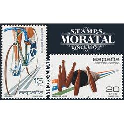 1983 Spanien 2577/2578  Sport Sport ** Perfekter Zustand  (Michel)