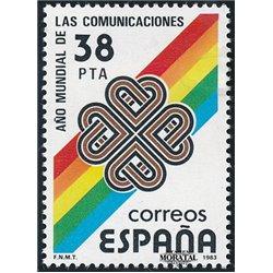 1983 Espagne 2321 Communications Organismes **MNH TTB Très Beau  (Yvert&Tellier)