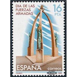 1983 Espagne 2327 Forces Armées Militaire **MNH TTB Très Beau  (Yvert&Tellier)