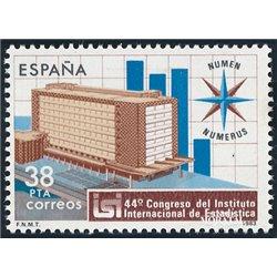 1983 Espagne 2337 Statistiques  **MNH TTB Très Beau  (Yvert&Tellier)