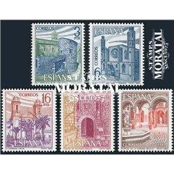 1983 Espagne 2344/2348  Paysages III Tourisme **MNH TTB Très Beau  (Yvert&Tellier)