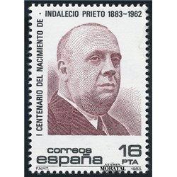 1983 Espagne 2351 Indalecio  **MNH TTB Très Beau  (Yvert&Tellier)