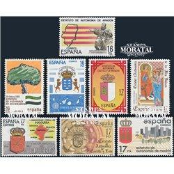 1984 Spanien 2621/2662  Autonomien Amtlichen Stellen ** Perfekter Zustand  (Michel)