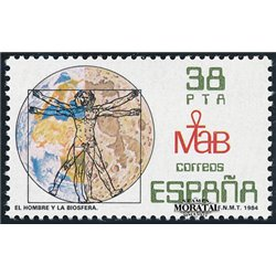 1984 Espagne 2359 Biosphère  **MNH TTB Très Beau  (Yvert&Tellier)