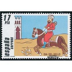 1984 Espagne 2392 Journée du timbre Philatélie **MNH TTB Très Beau  (Yvert&Tellier)