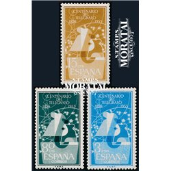 1955 Spain  Sc 839/841 Telegraph Phones **MNH Very Nice, Mint Hever Hinged?  (Scott)