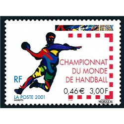 2001 France  Sc# 2796  ** MNH Very Nice. Handball World (Scott)