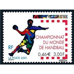 2001 Frankreich Mi# 3507  ** Perfekter Zustand. Handball -Welt (Michel)