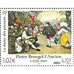 2001 France  Sc# 2798  ** MNH Very Nice. Pieter Bruegel (Scott)  Comics