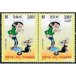 2001 France  Sc# 0  ** MNH Very Nice. Stamp Day (Scott)