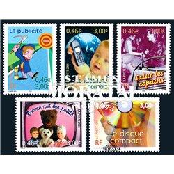2001 France  Sc# 2804a/2804d  ** MNH Very Nice. The 20th Century (Scott)