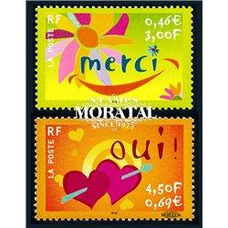 2001 Frankreich Mi# 3519I  ** Perfekter Zustand. Glückwünsche (Michel)