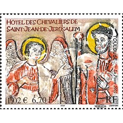 2001 France  Sc# 2799  ** MNH Very Nice. Paintings (Scott)  Castles