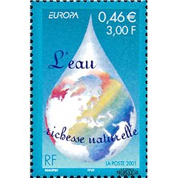 2001 France  Sc# 2817  ** MNH Very Nice. Europa (Scott)  Flora