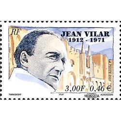 2001 France  Sc# 2827  ** MNH Very Nice. Jean Vilar (Scott)