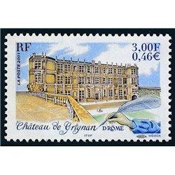 2001 France  Sc# 2816  ** MNH Very Nice. Châteaux de de Grignan (Scott)