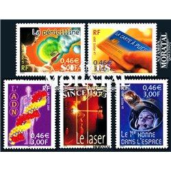 2001 Frankreich Mi# 3561/3565  ** Perfekter Zustand. 20. Jahrhundert (Michel)