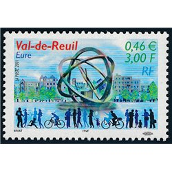 2001 France  Sc# 2838  ** MNH Very Nice. Val-de-Reuil (Scott)