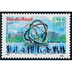 2001 Frankreich Mi# 3566  ** Perfekter Zustand. Val-de-Reuil (Michel)