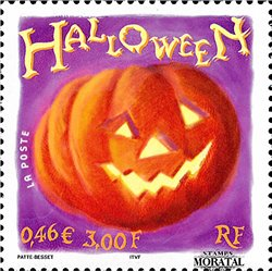 2001 France  Sc# 2839  ** MNH Very Nice. Halloween (Scott)  Personalities