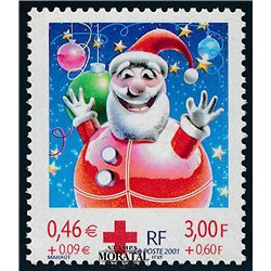 2001 France  Sc# B705  ** MNH Very Nice. Red Cross (Scott)  Red Cross