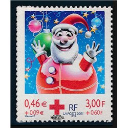 2001 France  Sc# 0  ** MNH Very Nice. Red Cross (Scott)