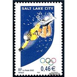 2002 Frankreich Mi# 3597  ** Perfekter Zustand. O.S. Salt Lake City 2 (Michel)  Persönlichkeiten