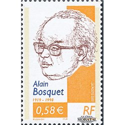 2002 France  Sc# 2873  ** MNH Very Nice. Alain Bosquet (Scott)