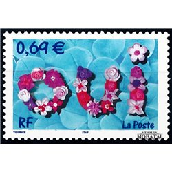 2002 France  Sc# 2876  ** MNH Very Nice. Holiday Stamps (Scott)  Europe