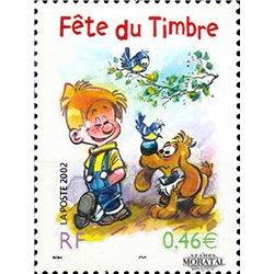 2002 France  Sc# 2878  ** MNH Very Nice. Stamp Day (Scott)