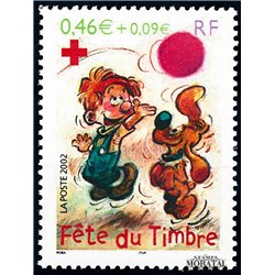 2002 France  Sc# 2879  ** MNH Very Nice. Stamp Day (Scott)