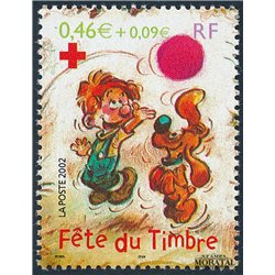 2002 France  Sc# 2879a  ** MNH Very Nice. Stamp Day (Scott)