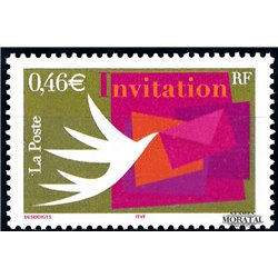 2002 France  Sc# 2889  ** MNH Very Nice. Stamps Invitations (Scott)