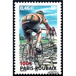 2002 France  Sc# 2890  ** MNH Very Nice. Paris-Roubaix (Scott)