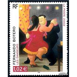 2002 France  Sc# 2871  ** MNH Very Nice. Fernando Botero (Scott)  Sport