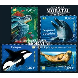 2002 France  Sc# 2892/2894  ** MNH Very Nice. Nature (Scott)  Philately