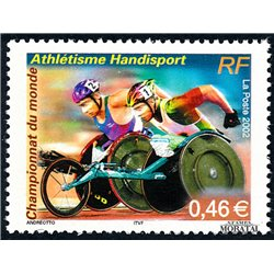 2002 France  Sc# 2902  ** MNH Very Nice. World Athletics (Scott)  Monastery-Tourism