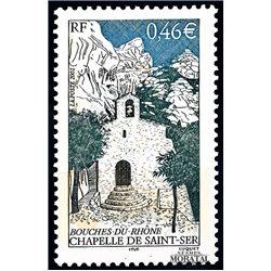 2002 Frankreich Mi# 3633  ** Perfekter Zustand. Kapelle von Saint Ser (Michel)