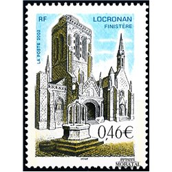 2002 France  Sc# 2886  ** MNH Very Nice. Locronan (Scott)  Music