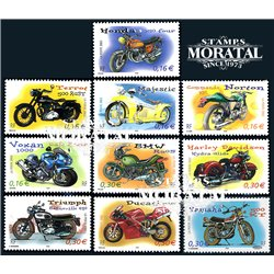 2002 France  Sc# 2913a/2913j  ** MNH Very Nice. Motorcycles (Scott)  Personalities
