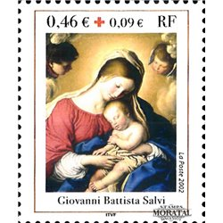 2002 France  Sc# B706  ** MNH Very Nice. Red Cross (Scott)  Red Cross