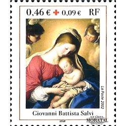 2002 France  Sc# B706  ** MNH Very Nice. Red Cross (Scott)  Red Cross