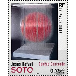 2002 Frankreich Mi# 3674  ** Perfekter Zustand. Kunstwerke (Michel)  Serie Gene