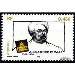 2002 France  Sc# 2924  ** MNH Very Nice. Alejando Dumas (Scott)