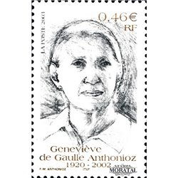 2003 France  Sc# 2932  ** MNH Very Nice. G. de Gaulle Anthonioz (Scott)