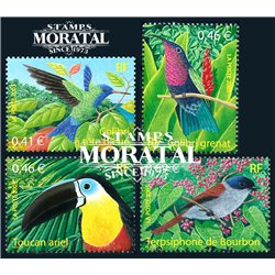 2003 France  Sc# 2936/2939  ** MNH Very Nice. Birds (Scott)